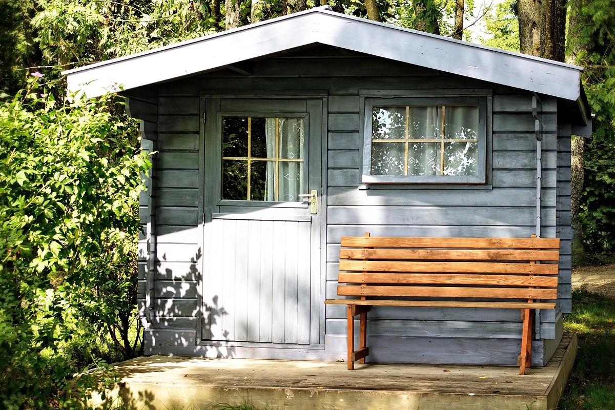 Verhuur tuinhuis via Airbnb